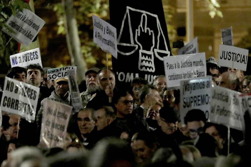 Llueve sobre mojado en la justicia española