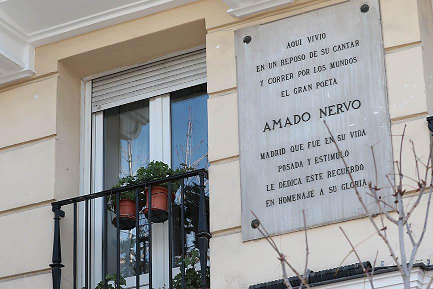 Historia y casas de mexicanos ilustres que vivieron en Madrid