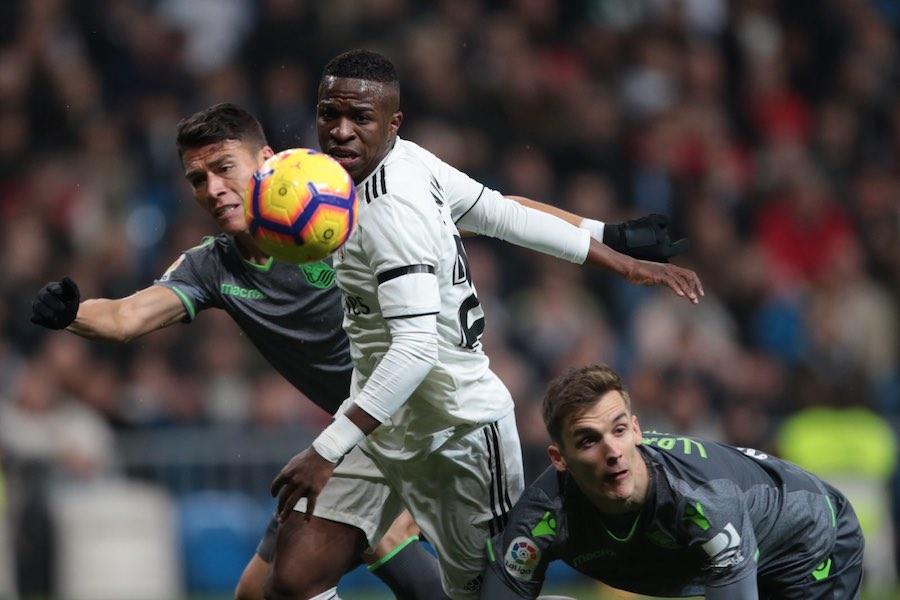 Héctor Moreno y la Real Sociedad conquistan el Bernabéu