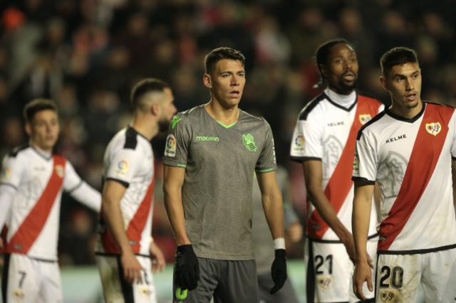 2-2 Soccer match 20 between Rayo Vallecano vs Real Sociedad of La Liga