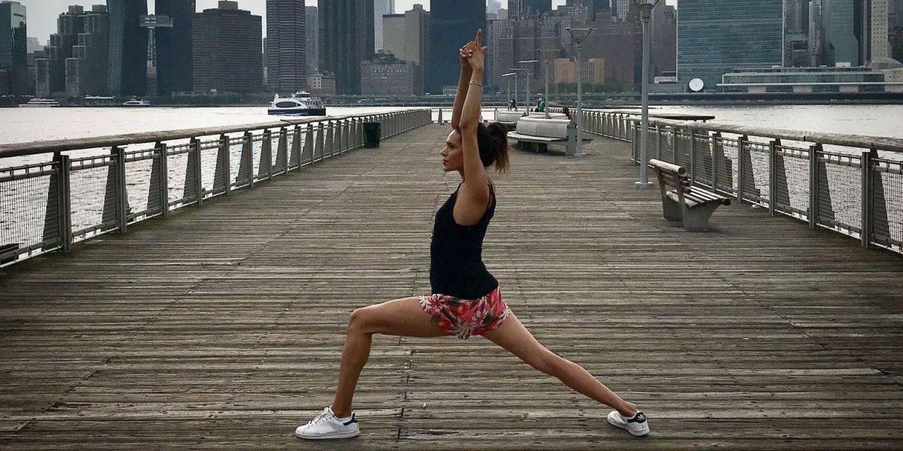 Mente sana en cuerpo sano de una emprendedora 'yogi' mexicana