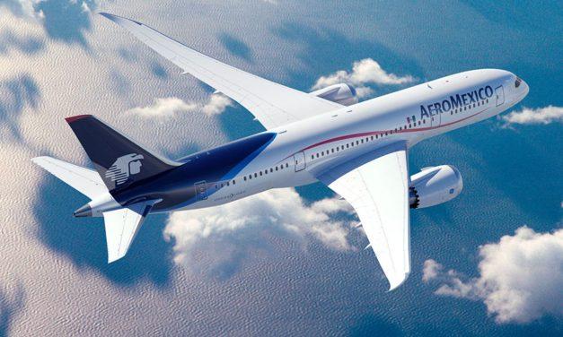 Tres vuelos semanales entre Ciudad de México y Barcelona por Aeroméxico