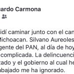 Defensor de víctimas renuncia por amenazas en Michoacán