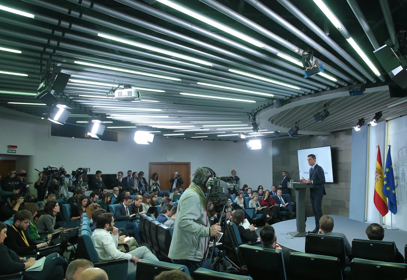 Pedro Sánchez anuncia adelanto de elecciones para el 28 de abril 2019