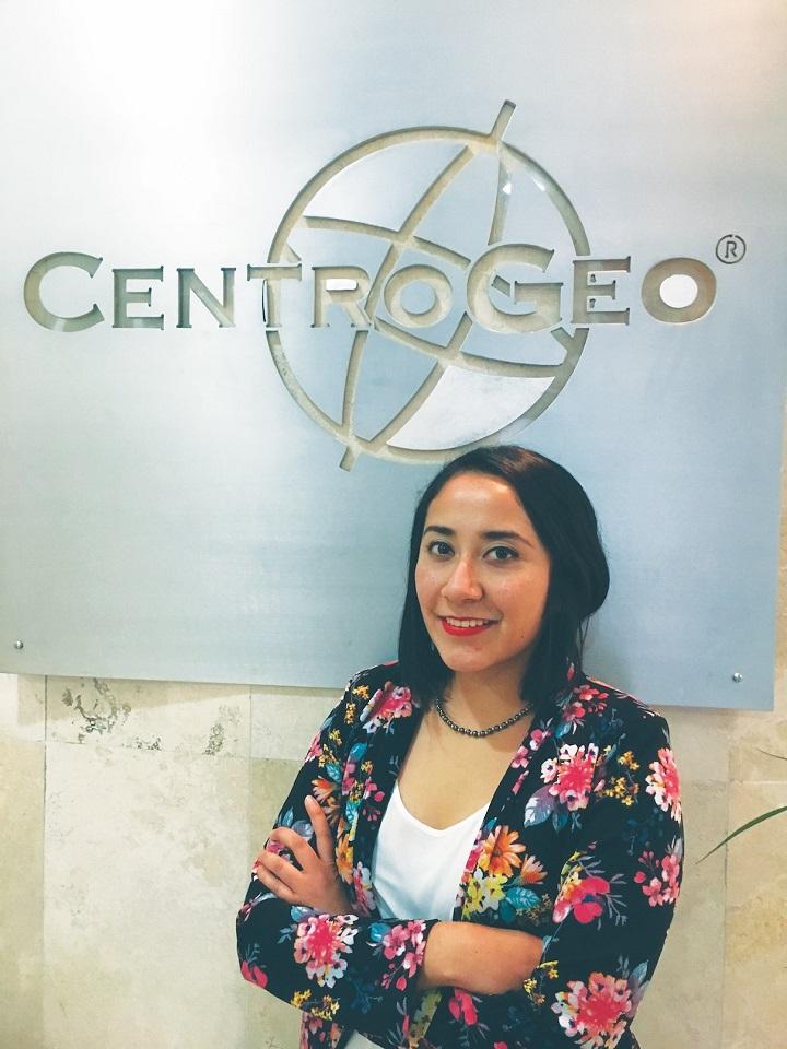 Ingrid Noyola de la Llave es Ingeniería en Topografía y Fotogrametría.