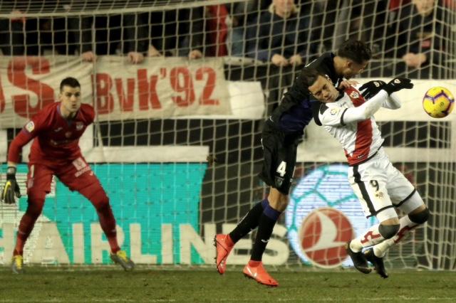Soccer match 17 between Rayo Vallecano vs Levante UD of La Liga