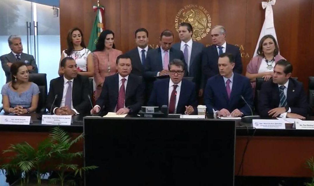 Acuerdo histórico, votación unánime: Guardia Nacional
