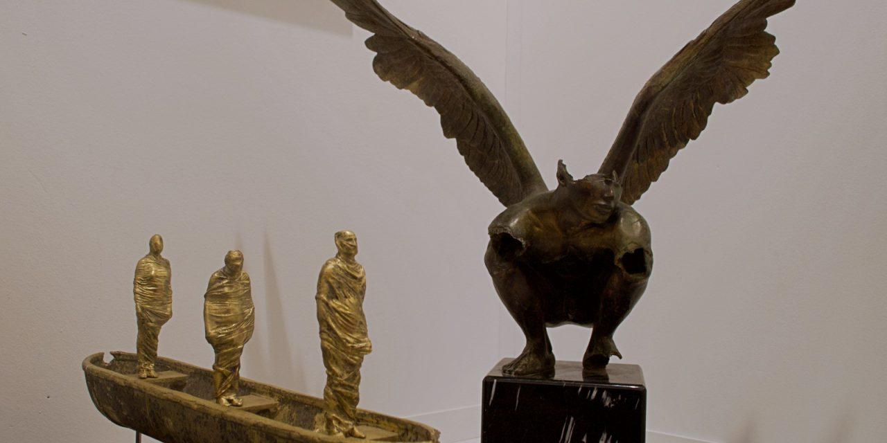 'Art Madrid' vuela con las alas de Jorge Marín