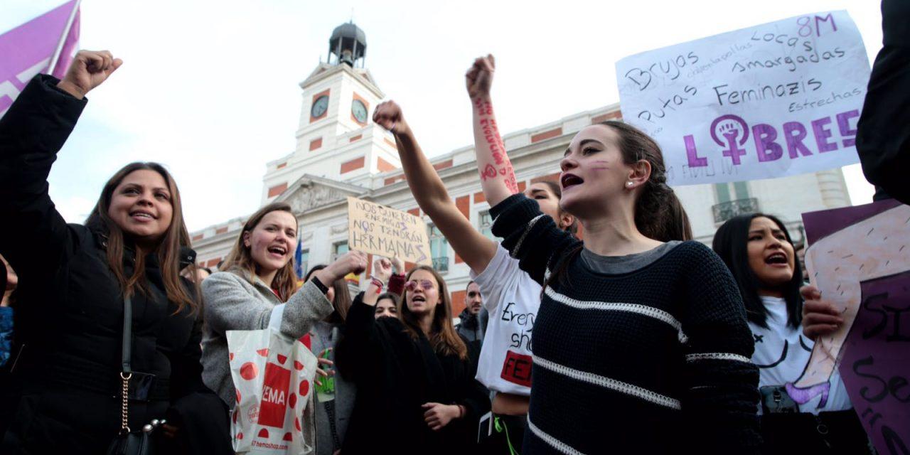 8 de marzo: manifestaciones en España y principales reivindicaciones de la huelga