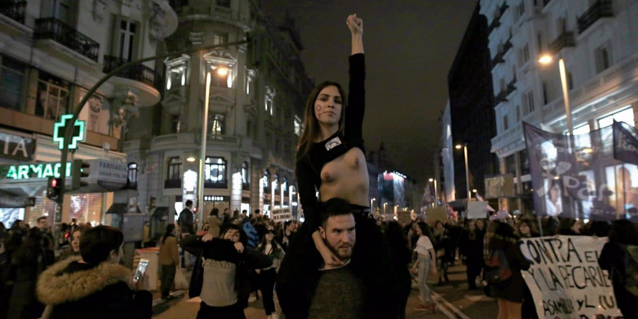 Hombres en la lucha feminista