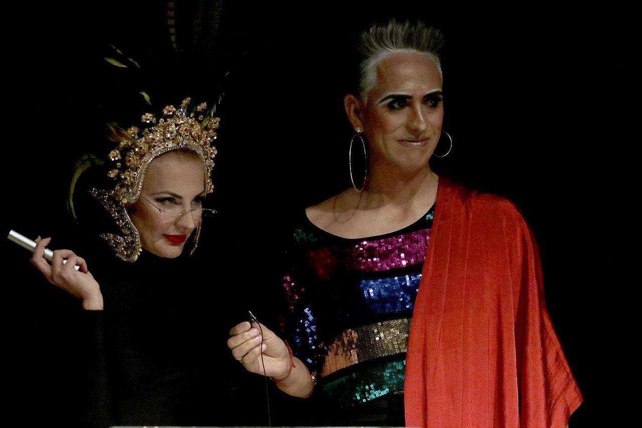 Roma Calderón por Nu-Ca y Daniel Saa por el Festival Internacional de Cabaret de Morelos, México dan la bienvenida.