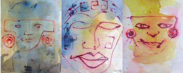 Influencias de México y del mundo maya en Encarna, una artista española