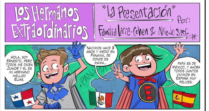 Superhéroes mexicanos para mejorar la vida de niños con autismo desde España