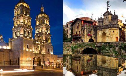 Mismo nombre para distintos lugares en México y en España