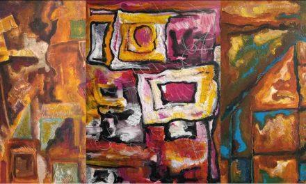 Pintura, literatura y rock: la complejidad artística de María Gloria