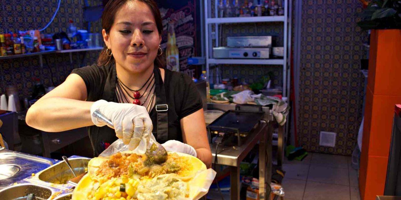Tacos de guisado en mis últimos recuerdos de vivir en México