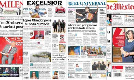 'Arde la Amazonía' y 'Estados Unidos podrá detener de forma indefinida a niños migrantes'. Noticias del día en México