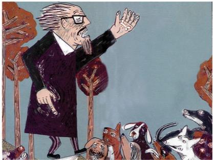 José Revueltas: discurso a los perros por la lucha de clases