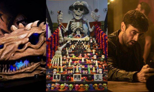 Agenda cultural Méx: Día de Muertos, centenario del Palacio de Cibeles, ciencia y dragones