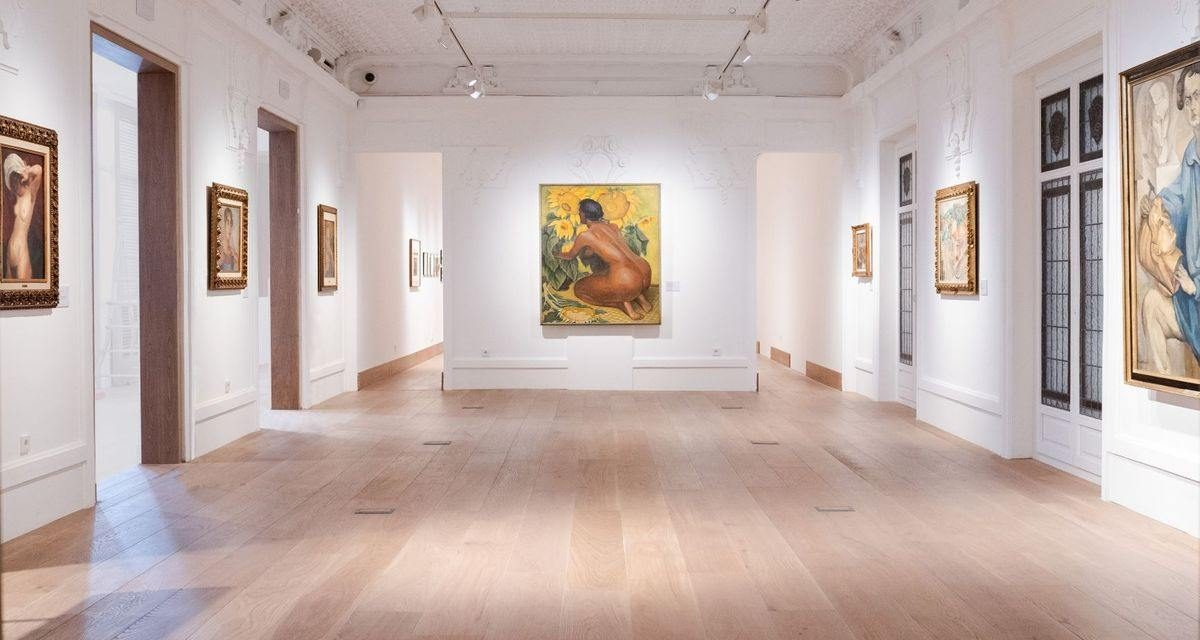Diego Rivera corona el primer cumpleaños de la Casa de México en España