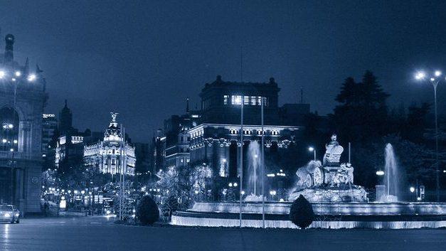 Cuando hiela Madrid