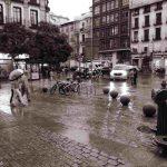 Llueve, Madrid