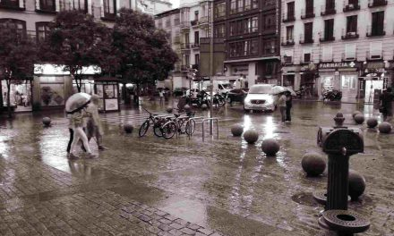 Llueve, Madrid
