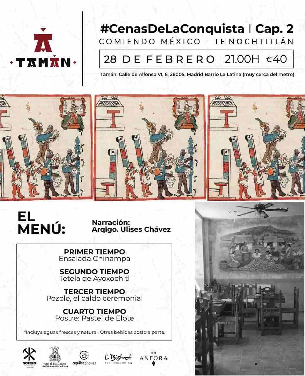 Cenas de la Conquista - Tamán