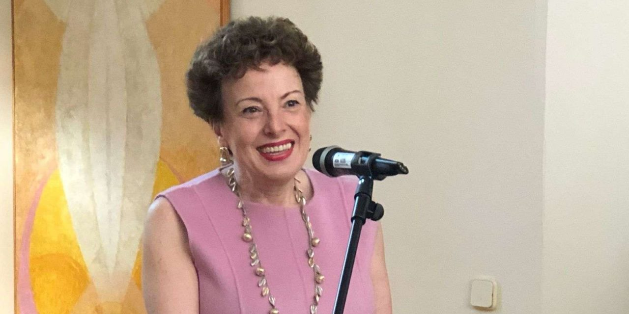 Despedida de Roberta Lajous, embajadora de México como 'todos los mexicanos en España'