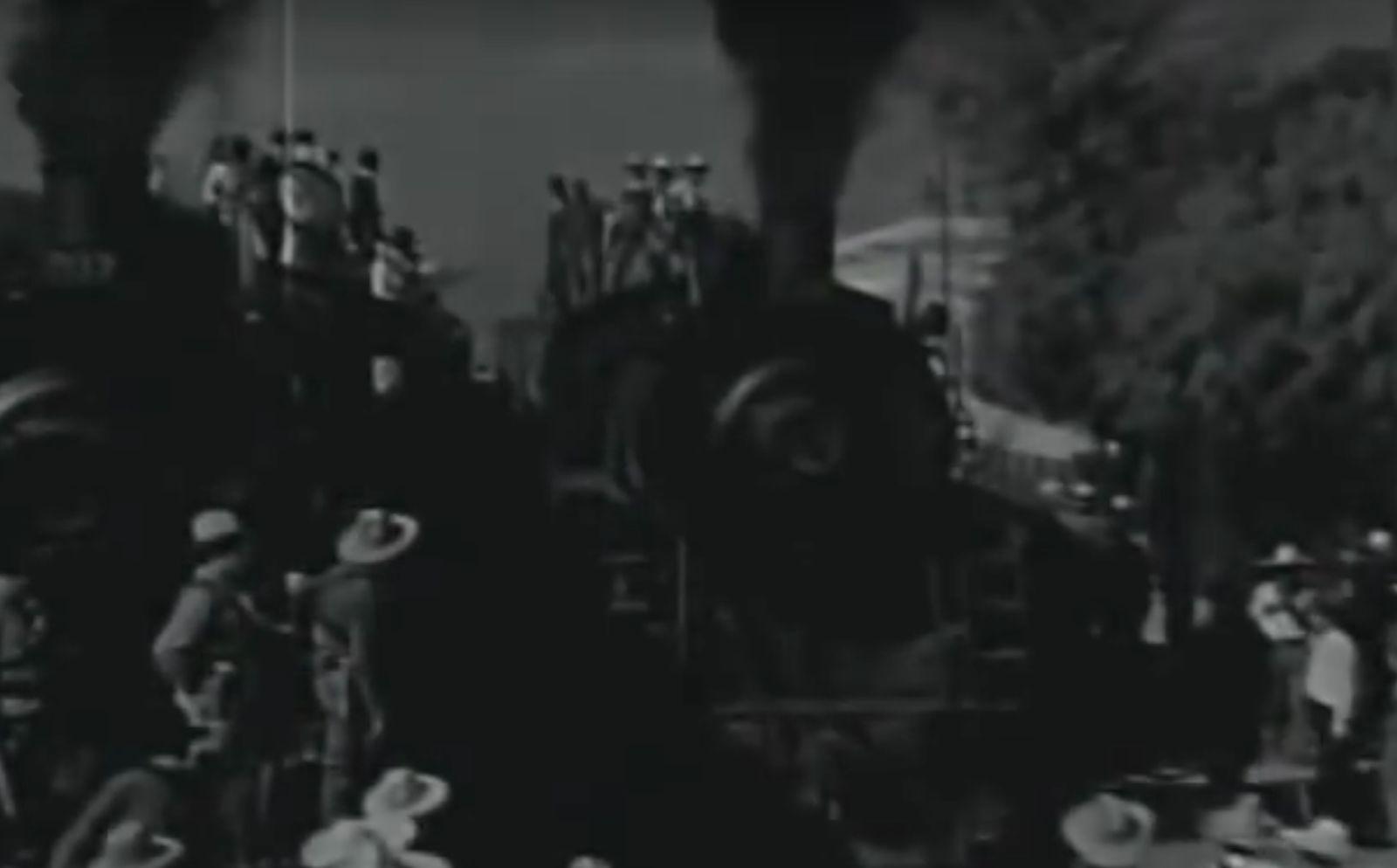 Trenes en época de la Revolución