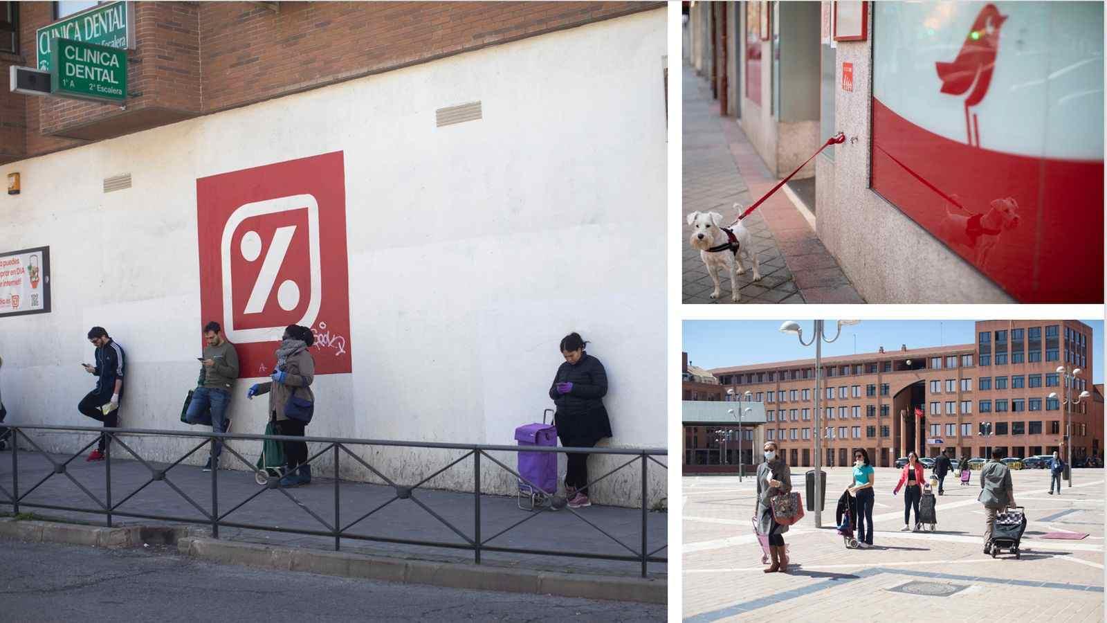 Confinamiento en Madrid - una ciudad, distintas realidades
