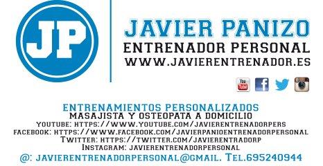 Javier Panizo - Entrenador personal