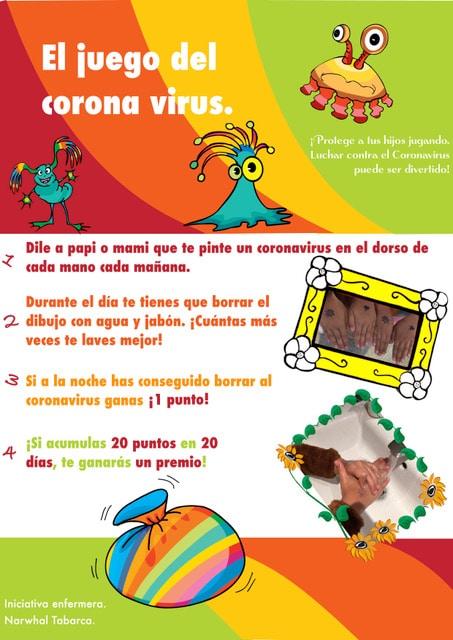 Juego del coronavirus