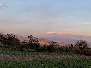 El Popocatépetl desde Tlayacapan