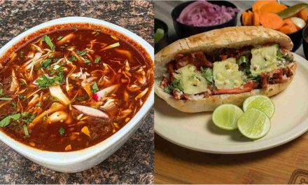 Pozole y torta de pastor: auténtica comida mexicana casera a domicilio
