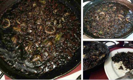 Arroz negro: mismo nombre, distintos ingredientes y sabores en México y en España
