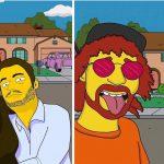 El regalo de convertir a alguien en un personaje de los Simpson
