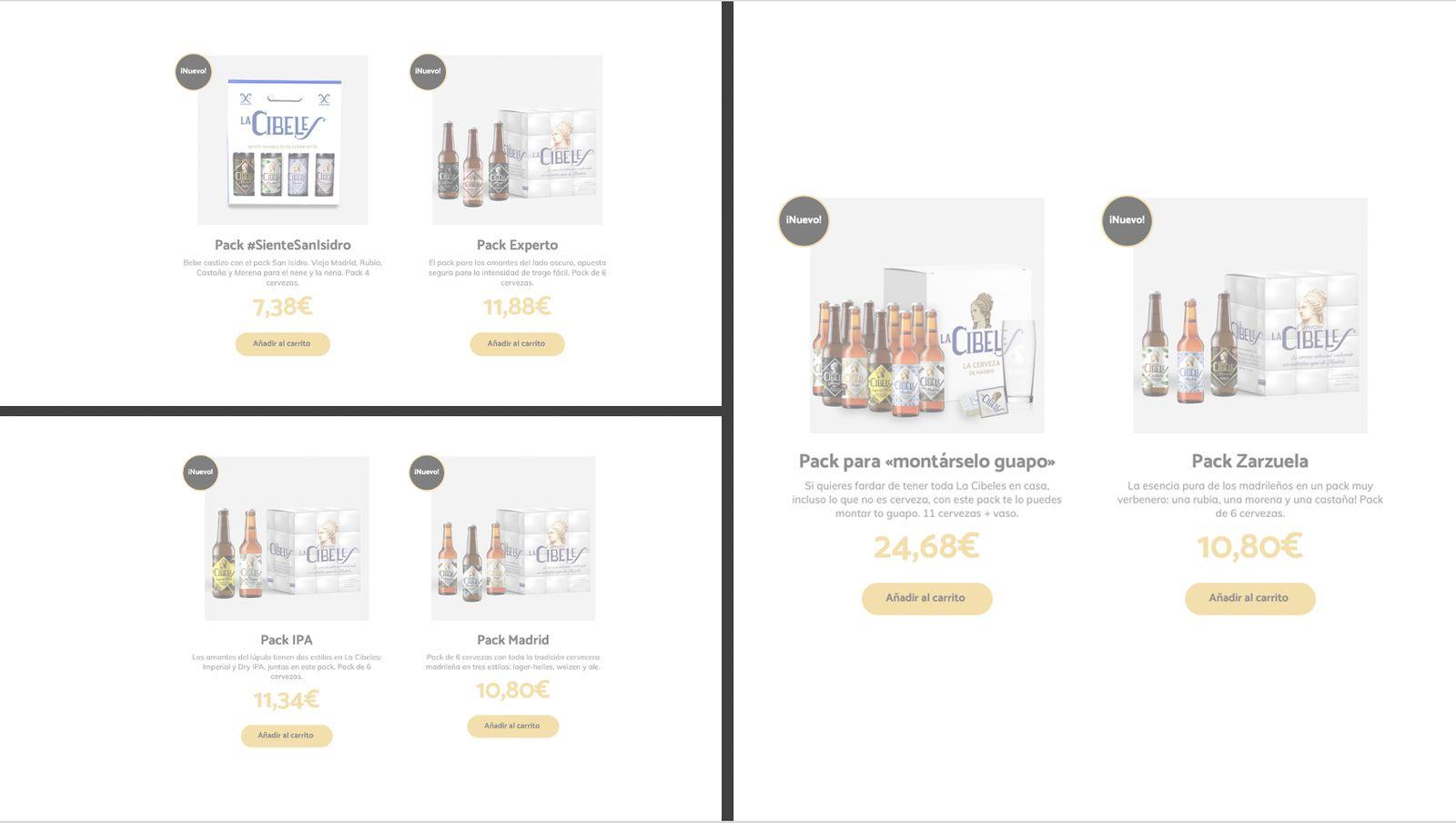 La Cibeles - Tienda online