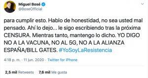 Twitter - Miguel Bosé