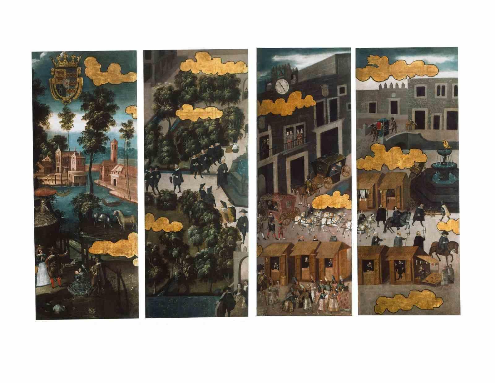 Biombos y castas, pintura profana en la nueva España