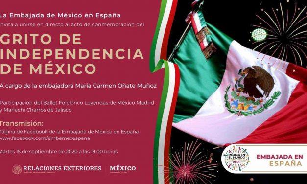 ¡Viva México en España! El Grito en tiempos de coronavirus