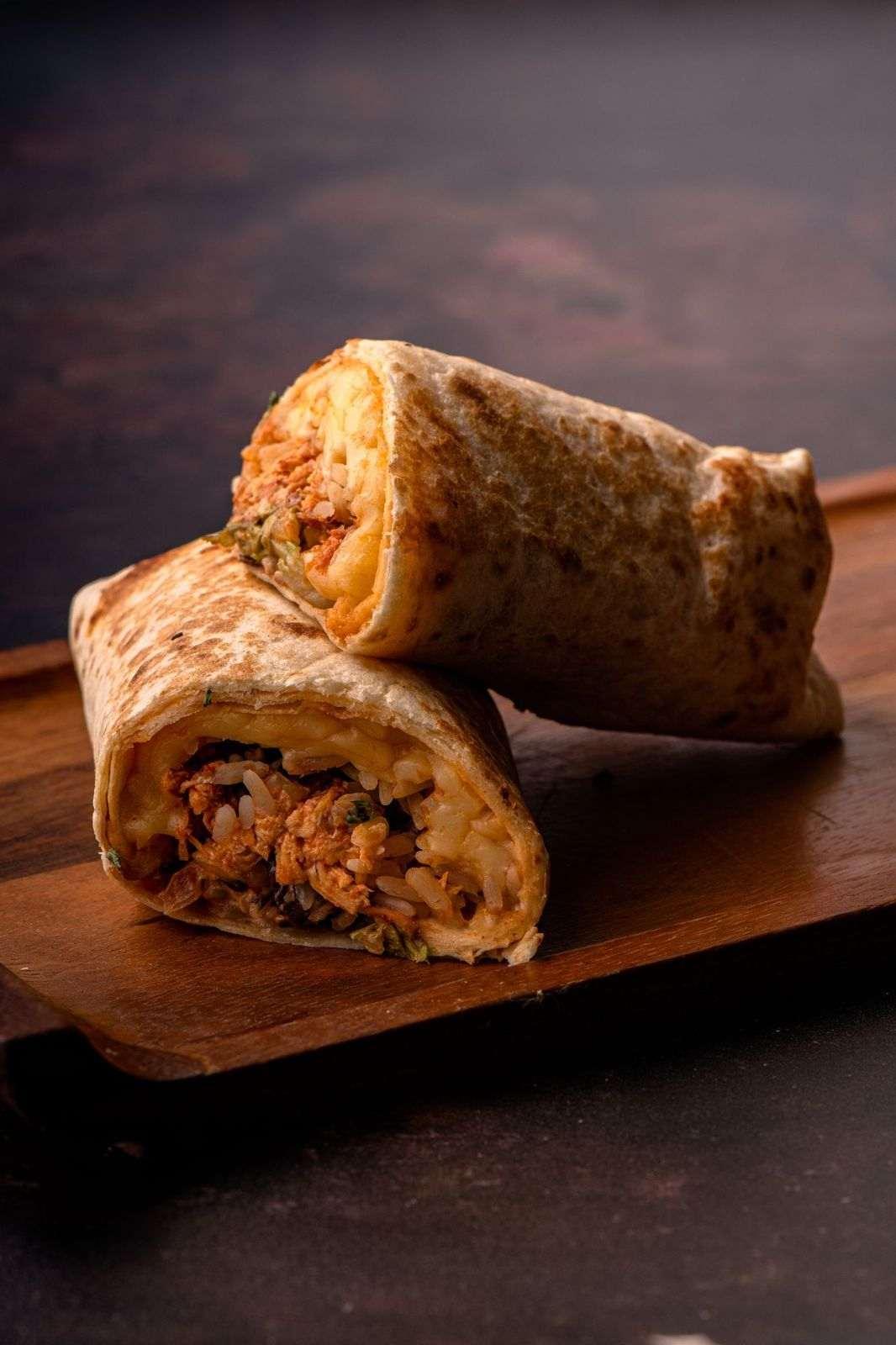 Día del guacamole - Burrito de pollo