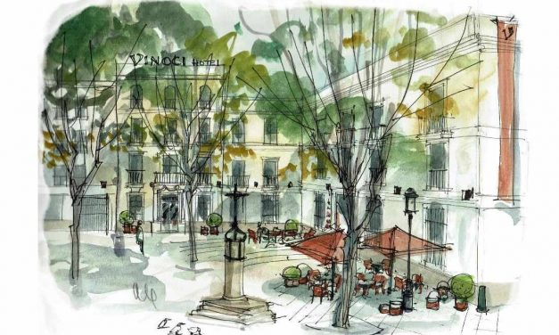 Diseño especial para el nuevo Hotel Vincci de Sevilla con el proyecto arquitectónico de CIDON
