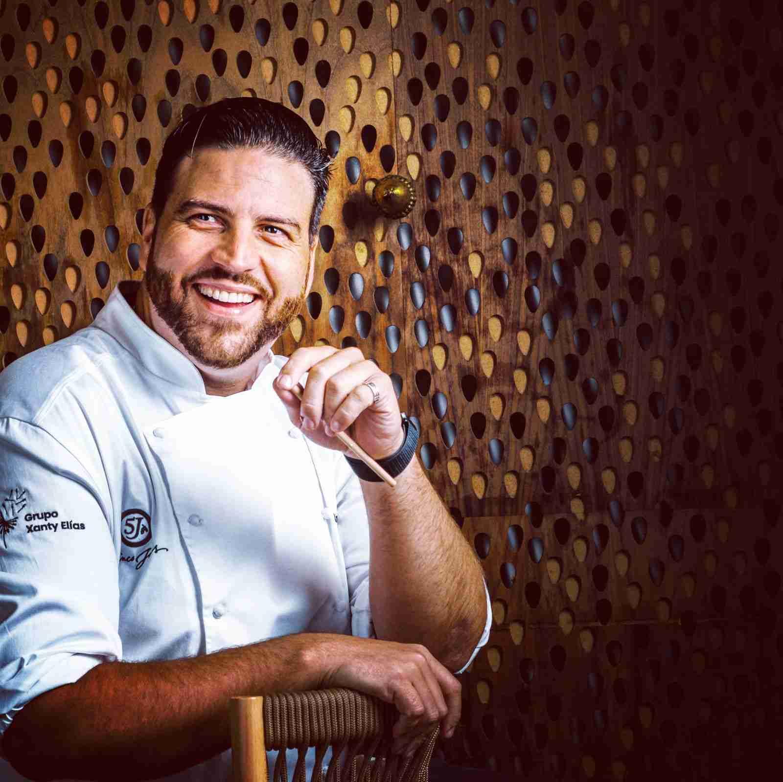 El chef Xanty Elías