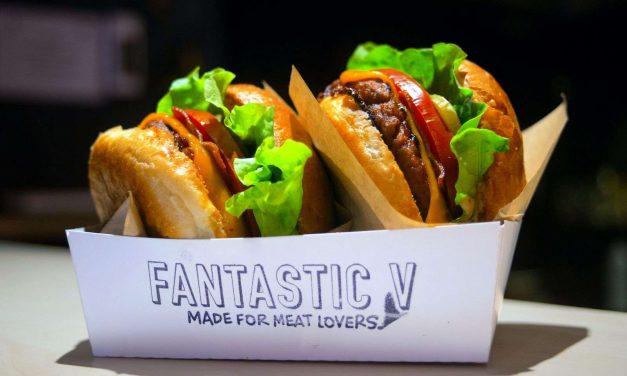 500 hamburguesas veganas gratis en Madrid por el cumpleaños de Fantastic V