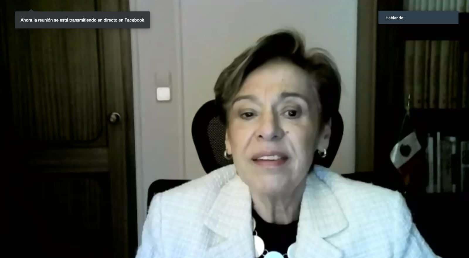 Embajadora de México en España