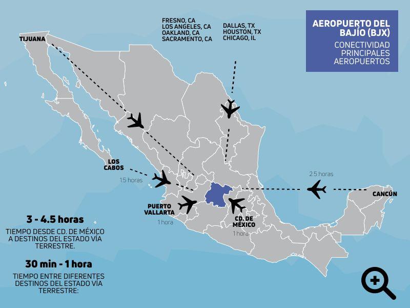 Cómo llegar a Guanajuato