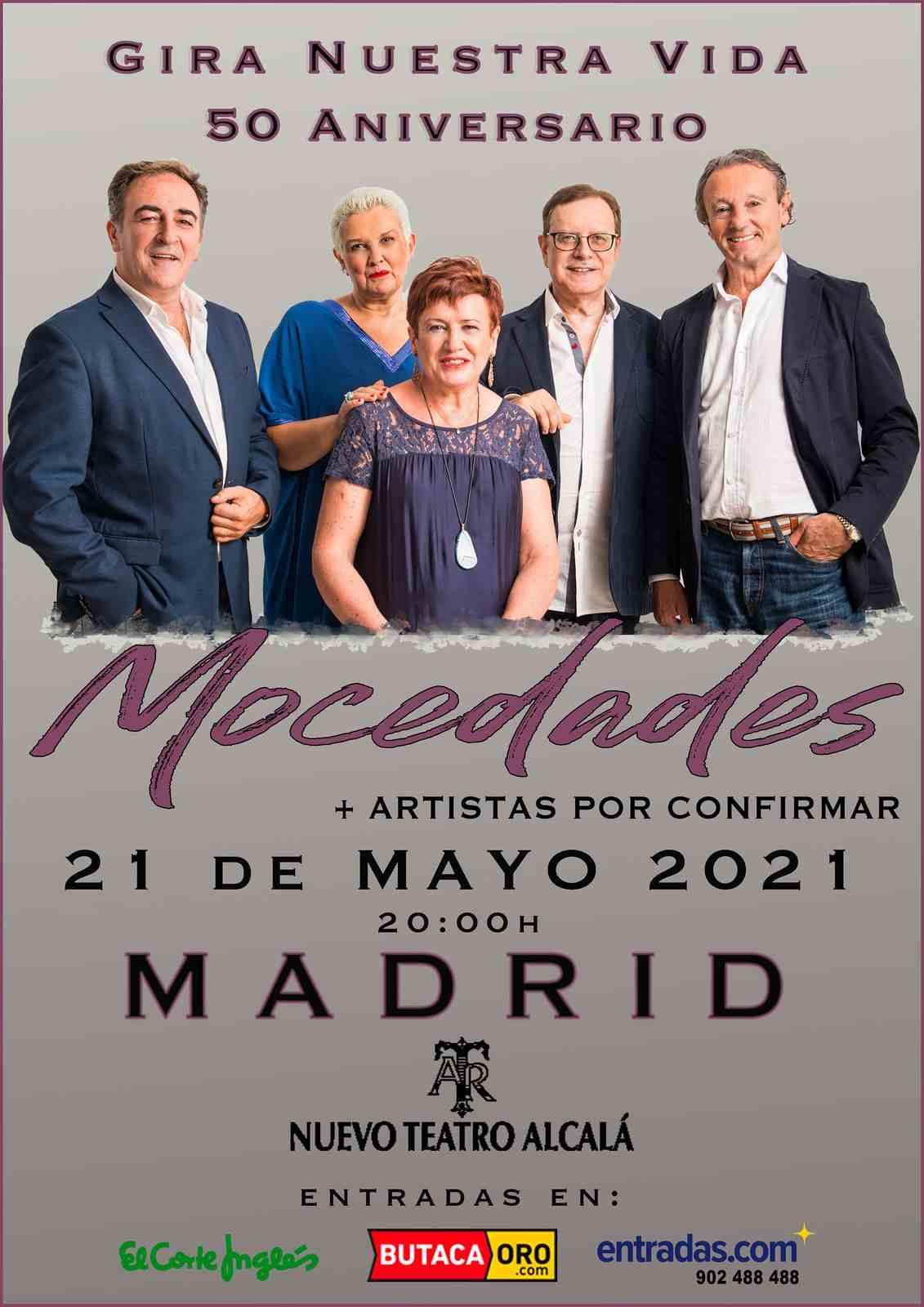 Mocedades en Madrid