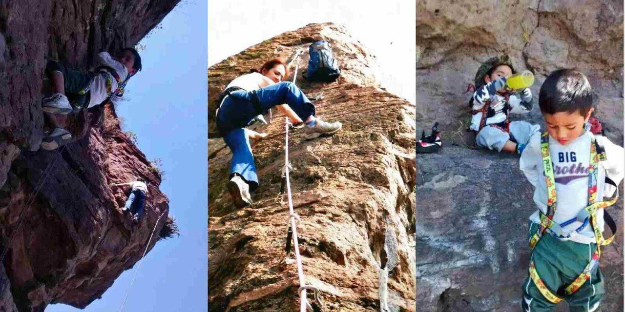 Escalar en roca fortalece el espíritu