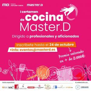 I Certamen de Cocina y Pastelería MasterD